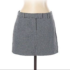 THEORY BRAND CLASSIC MINI SKIRT BLACK & GREY -10